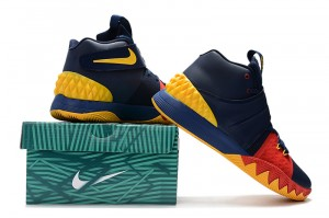 9c8140e8cf27 Nike Kyrie S1 Hybrid Black Gold White Men s Basketball Shoes NIKE ...