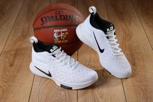 2bd66bd3655 Nike Lebron Witness II EP 2 Flyknit Oreo Black White Men s Basketball Shoes