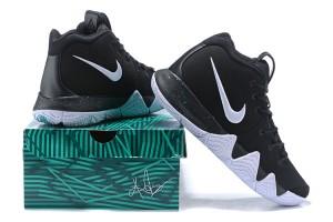 watch 53db9 db89b Nike Kyrie Flytrap Black White Volt Men's Basketball Shoes AA7071 ...