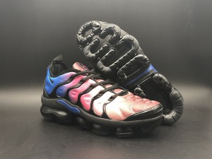 92149b7406a2cf Nike Air VaporMax Plus TN Red Blue White Men s Women s Running Shoes ...