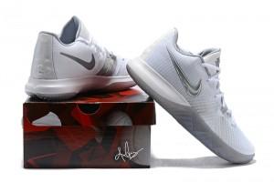 info for 2040a c1ece Nike Kyrie Flytrap White Metallic Silver Wolf Grey Men u0027s Basketball  Shoes