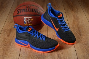 0a4371d557c3 Nike Lebron Witness II EP 2 Flyknit Royal Blue Orange Men s Basketball Shoes