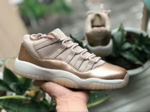 bd2ff83bb47c Nike Air Jordan Retro 11 rl gg BLACK GOLD Mens Athletic Basketball ...
