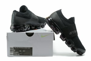258a0486791 Nike Air VaporMax Flyknit Moc Black Anthracite AH3397 004 Men u0027s  Running Shoes