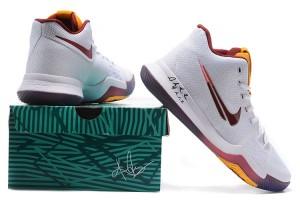 online store 1ec58 3113c Nike Kyrie 3 EP III Irving Dream White Multicolor Men s Basketball Shoes
