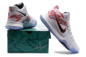 346ba0620c4a Nike Kyrie 3 III EP Irving Open Car White Red Grey Men s Basketball Shoes