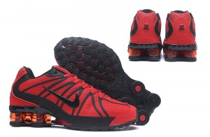 separation shoes 846f6 cc7b4 Nike Shox Kpu October Red Black Men s Running Shoes