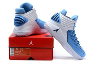 2cd089f8de3d3b Nike Air Jordan XXXII 32 Royal Blue White Men s Basketball Shoes