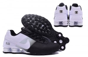 a890b387b9c Nike Shox Delive White Black NZ Men s Running Shoes NIKE-ST000352 ...