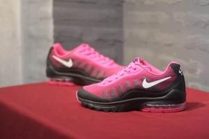 pretty nice 5a727 44904 Nike Air Max Invigor Print 95 Pink Black White Women s Running Shoes