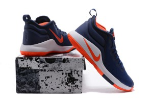 f8ba53481abc Nike Lebron Witness II EP 2 Navy Blue Orange White Men s Basketball Shoes