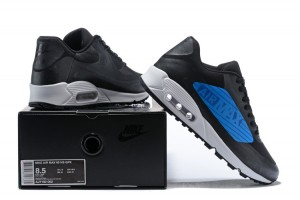 OFF WHITE x Nike Air Max 90 Wolf Grey Black Men's Running Shoes Sneakers NIKE ST002368