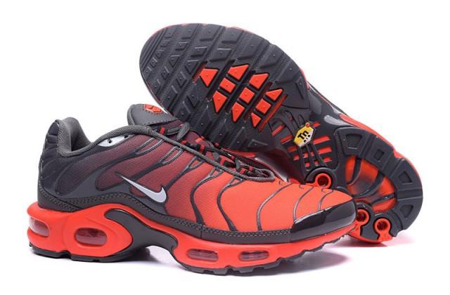 96cd22cca8 order nike air max plus tn tuned 1 crimson grey red 655020 606 mens running  shoes