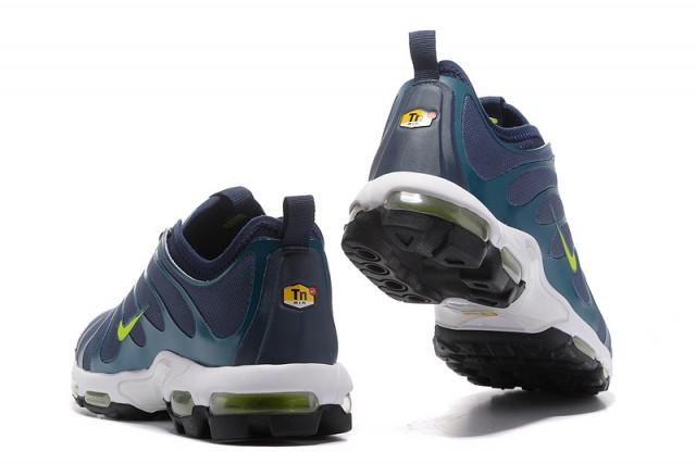 07b9bc23de82 Nike Air Max Plus TN Ultra Blue Green Black White 881560 412 Men s Running  Shoes 881560-412