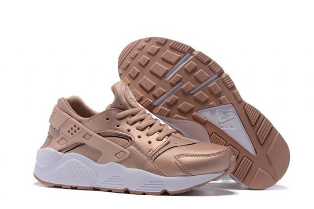 e99e12a1059e Nike Air Huarache Run SE Rose Gold Metallic Red Bronze Elm Men s Women s  Casual Shoes 859429-900