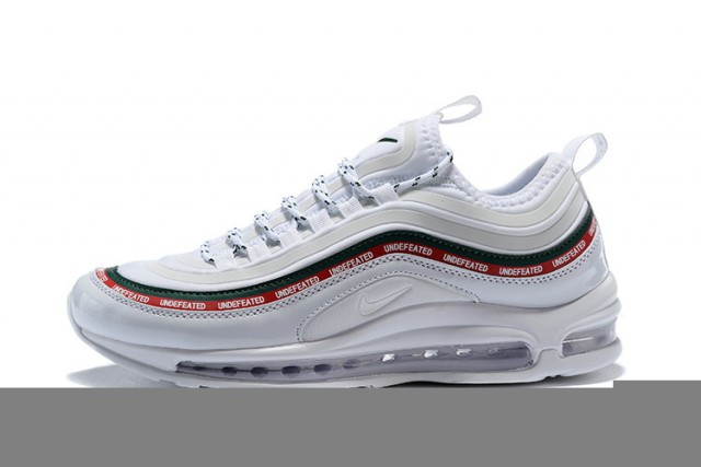 new style 33eaf f29d4 Nike Air Max 97 Ultra 17 Se Undefeated White Gorge Green Speed Red Men's  Running Shoes 924452-012