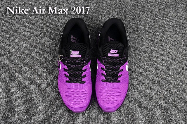 Nike Air Max 2017 KPU Purple Black White Women s Running Shoes ... 700a5dc3f
