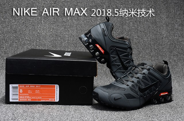 lowest price 31592 dabd3 Nike Air Max 2018. 5 Shox KPU Anthracite Grey Men's Running Shoes  NIKE-ST000403