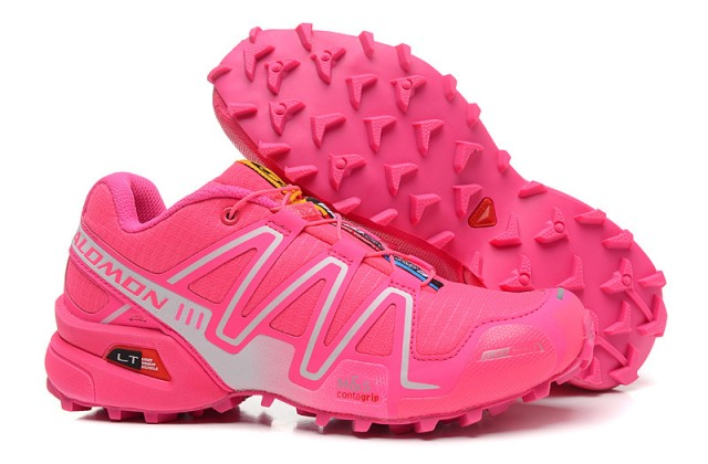 separation shoes 19b6f a997b Salomon Speedcross 3 GS Hyper Pink Vivid Pink White Women s Athletic  Outdoor Hiking Shoes NIKE-ST002042   WithTheSale.com