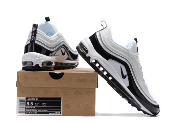 reputable site 7f0bf 0506c Nike Air Max 97 Playstation White Black Men s Running Shoes 312641-006    WithTheSale.com
