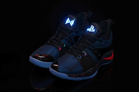 c22c2a362019b Nike PG 2 EP Playstation Black Multi-Color Men's Basketball Shoes ...