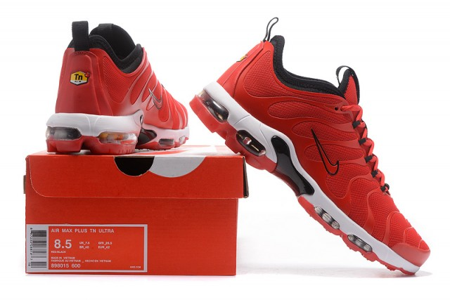 c388e081edf Nike Air Max Plus TN Ultra University Black White 898015 600 Men s Women s  Running Shoes 898015-600A