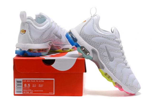 8717d5285c43 ... orange black 898015 401 ireland nike air max plus tn ultra white grey  rainbow womens mens running shoes 881560 437 ...