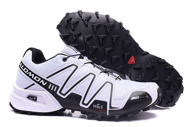 nouveau concept 4674d 82267 Salomon Speedcross 3 CS Black White Mens Trail Running Shoes NIKE-ST002087