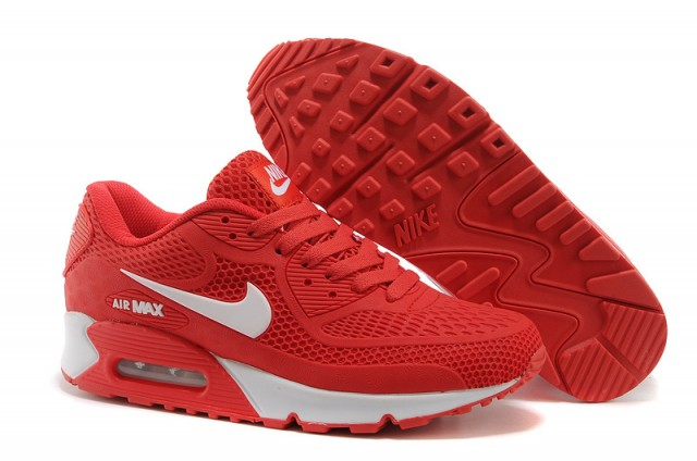 Nike Air Max 1 Womens White Red Trainers Sale UK K 1177