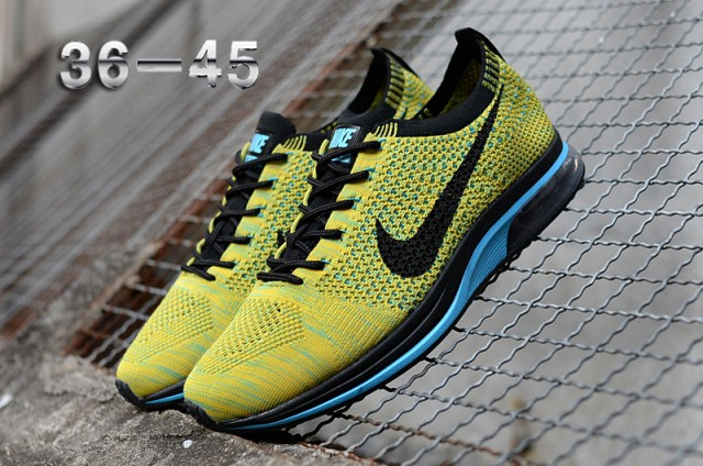 size 40 81891 10005 norway green yellow mens nike flyknit racer shoes 439b9 9b4bf