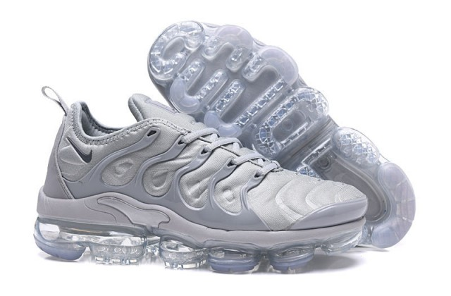 60fc5665544 Nike Air Max Plus TN 2018 Triple Silver Wolf Grey Men s Running Shoes NIKE-ST000883