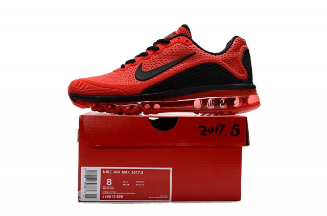 92719aee3b ... reduced nike air max 2017. 5 kpu red black mens running shoes 898013  600 withthesale ...
