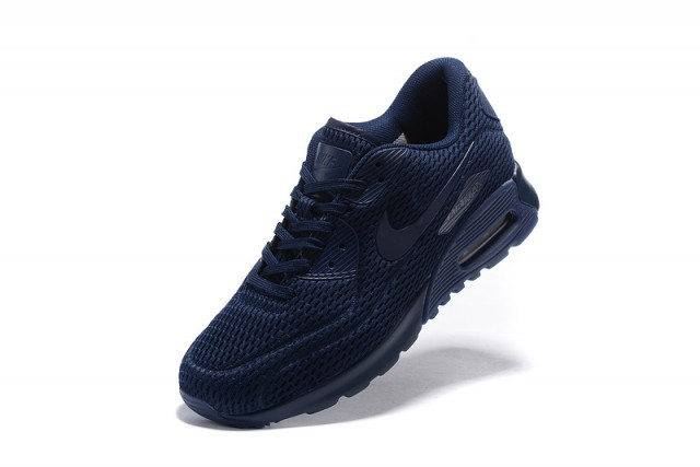 f5ec825729ea Nike Air Max 90 Ultra Breathe Midnight Navy Midnight Navy Men s Women s  Running Shoes Sneakers