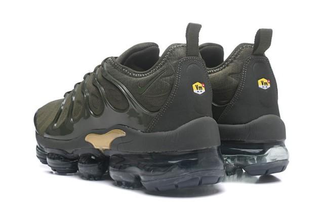 pretty nice 4bf31 65365 Nike Air Max Plus TN 2018 Metal MoonRock Olive Green Men's Running Shoes  NIKE-ST000887