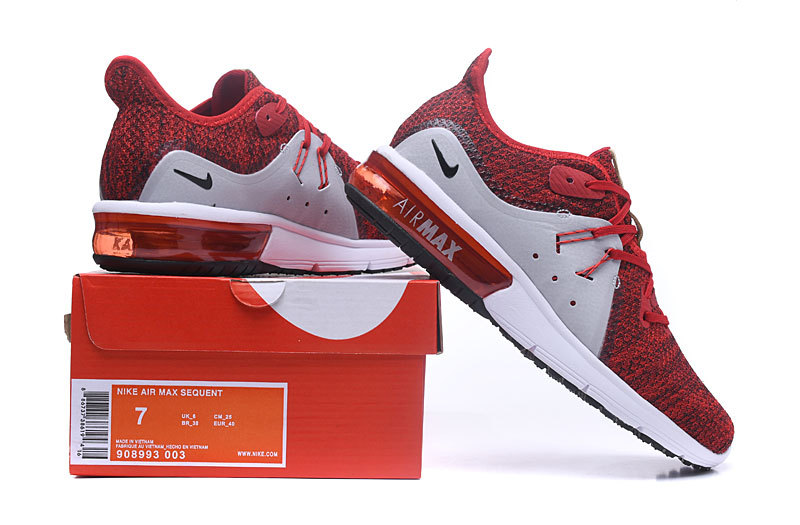 online retailer 1e513 ed975 Nike Air Max Sequent University Red ...
