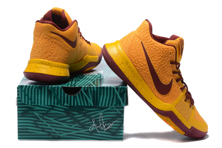 925e29931a6b ... spain nike kyrie 3 ep gold red wine mens basketball shoes nike st001499  a1c57 626d0