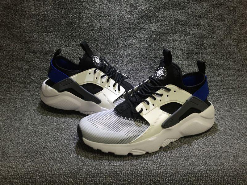 69ee8368bccf Nike Air Huarache Run Ultra White Racer Blue Black Men s Casual Shoes