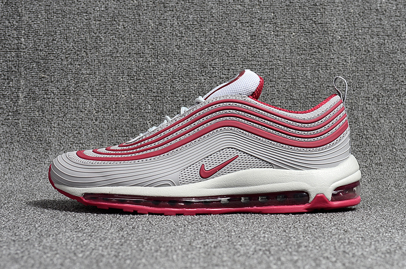 check out 02006 e1256 Nike Air Max 97 Kpu OG Playstation Grey Red White Men's Running Shoes  NIKE-ST000679