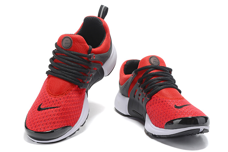 3b81de5c1697 Nike Air Presto Essential Track Red Black Summit White Men s Running Shoes