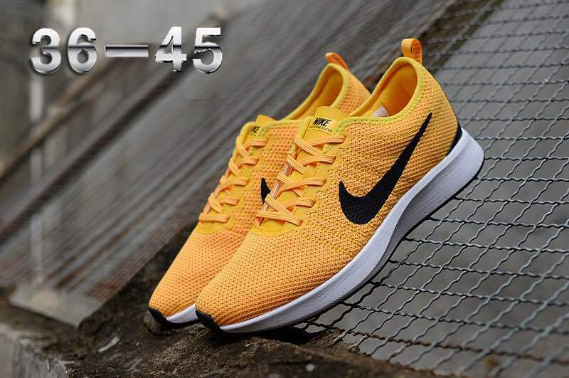 16358c550189d Nike Air Zoom Mariah Flyknit Racer Yellow Black White Women s Men s ...