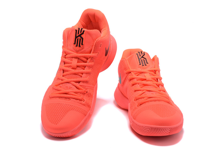 hot sale online 6c15a d9adb Nike Kyrie 3 EP Solar Red Black Men's Basketball Shoes NIKE-ST001498
