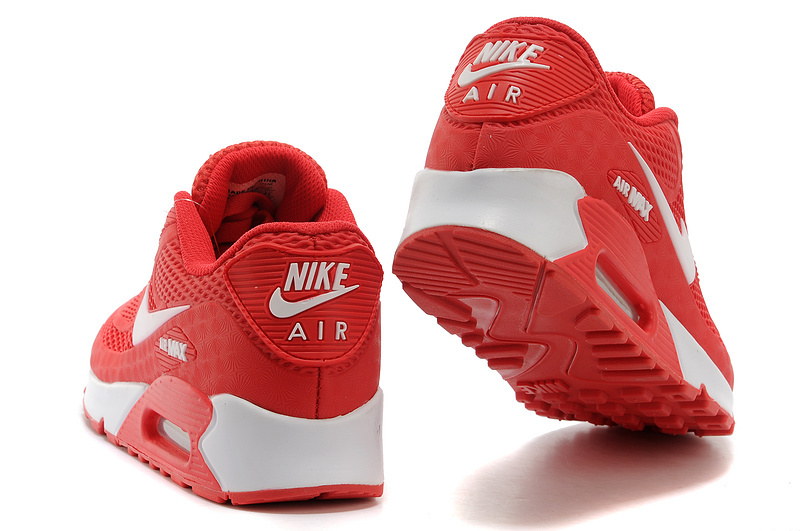 cheap for discount 1b210 8f331 Nike Air Max 90 KPU University Red White Men s Women s Running Shoes  Sneakers