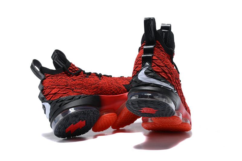 af3bcacdaaed Nike Lebron XV 15 EP Solar Red Black Men s Basketball Shoes NIKE ...