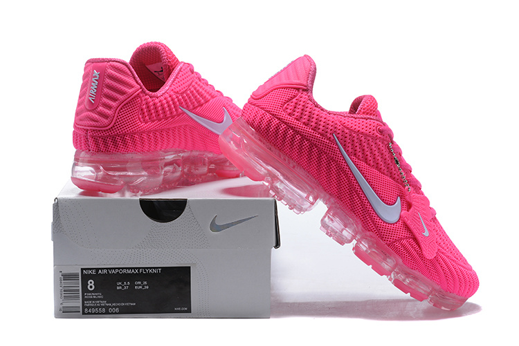 purchase cheap 13a0e 61ec0 Nike Air Vapormax Flyknit Kpu Hyper Pink White Women's Running Shoes  849558-006A