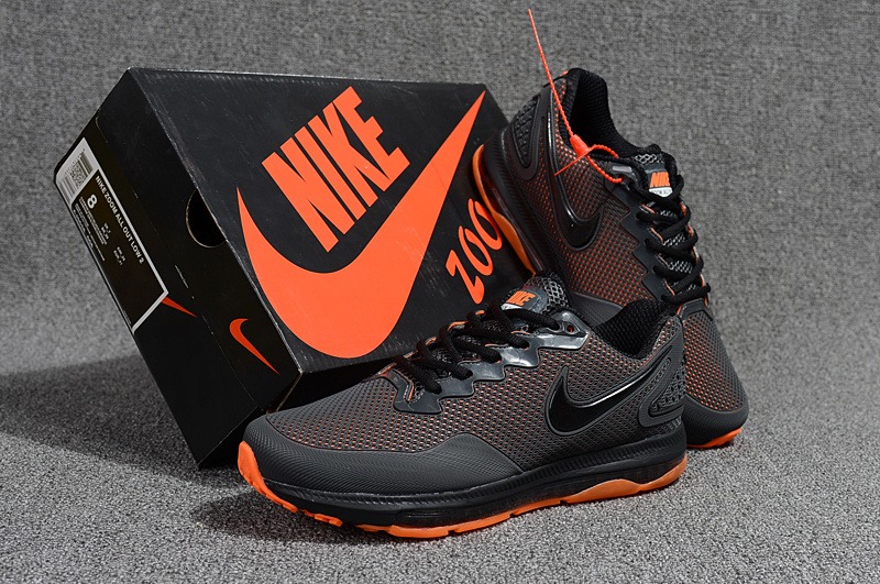 sports shoes ca1cb 49311 Nike Air Zoom All Out Kpu Anthracite Grey Orange ...