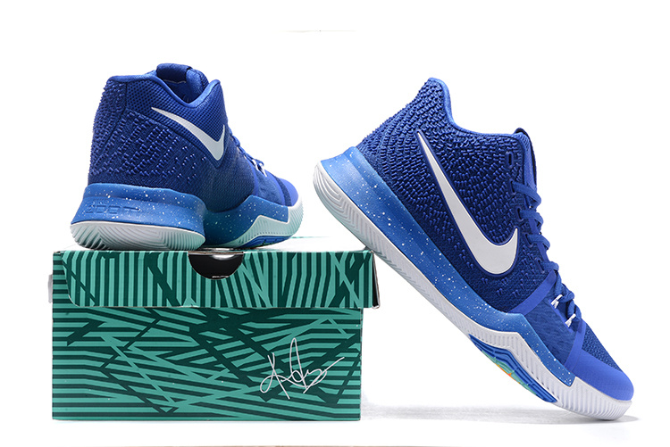official photos 799a2 67e7c Nike Kyrie 3 III EP Irving Royal Blue White Men's Basketball Shoes  NIKE-ST001533