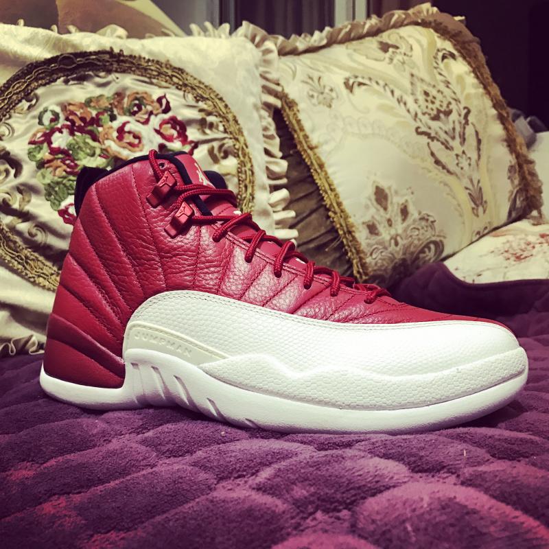 brand new fa448 b65c4 Nike Air Jordan Retro 12 Gym Red Mens Athletic Basketball Shoes 130690-600
