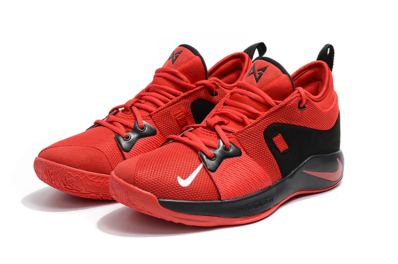 brand new 27d28 f8852 Nike Paul George PG2 Playstation October Red Black Men's Basketball Shoes  NIKE-ST001855