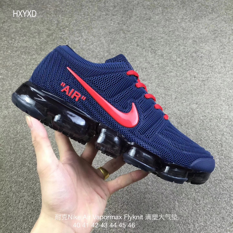 4c31af87dc28d ... authentic nike air vapormax flyknit kpu navy blue red eb058 ee55b