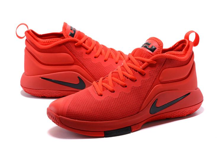 85c0fec42b0 Nike Zoom Witness EP Lebron James October Red Men s Basketball Shoes ...